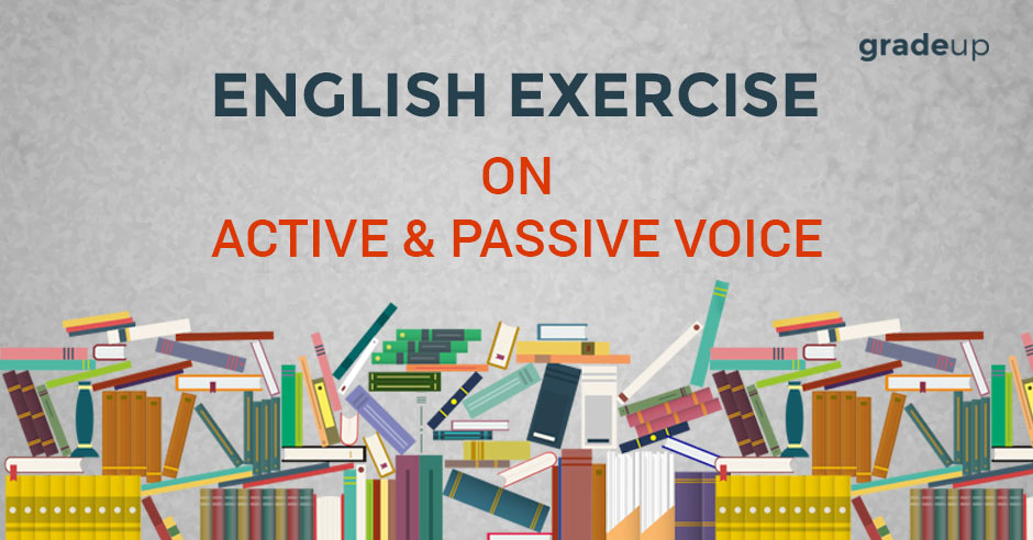 English Exercise On Active Passive Voice Mp Study